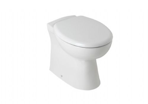Eastbrook Colorado Back To Wall Wc Toilet Pan & Soft Close Seat
